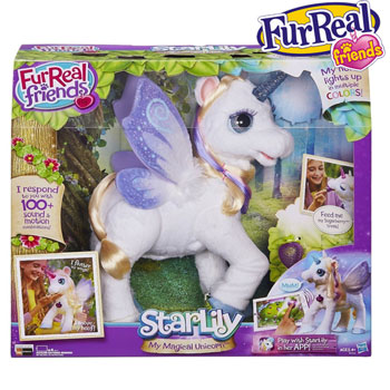 Unicornul Starlily Jucaria FurReal Friends