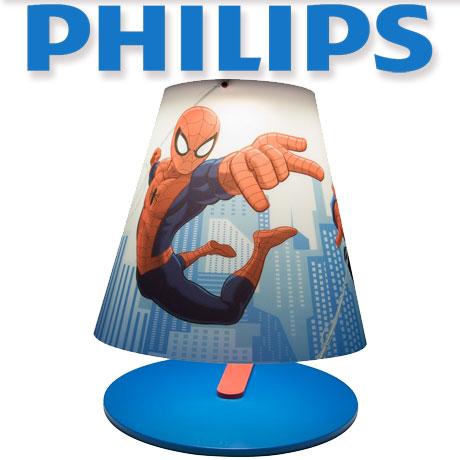 Veioza camera copii Philips cu LED Marvel Spider-man