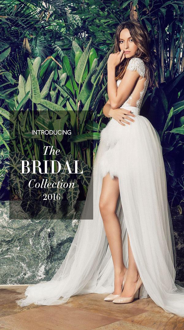 Rochii de mireasa si domnisoare de onoare Bridal Cristallini 2016