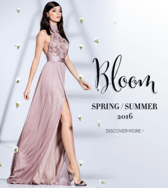 Colectia de rochii de seara si cocktail Bloom Cristallini