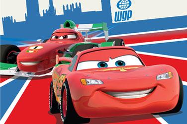 Covoare Disney pentru baieti Disney Cars Fulger McQueen