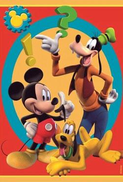 Covoare personalizate cu personaje Disney pentru camera copiilor