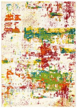 Covor Artist Multicolor, Tesut mecanic