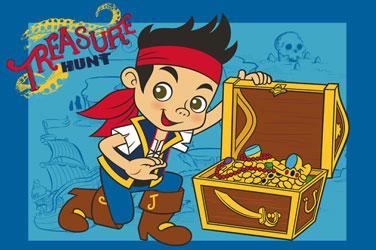 Covor Disney Jake si Piratii din Tara de Nicaieri