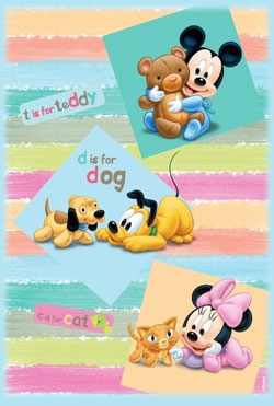Covor Disney Mickey Mouse Babies la eMAG
