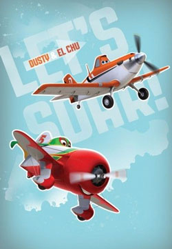 Covor Disney Planes 133 x 190 cm