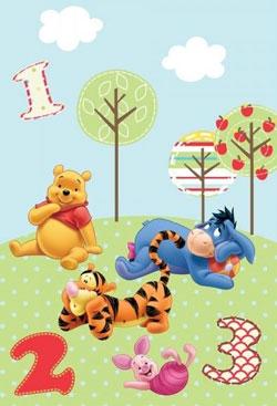 Covor Disney Winnie the Pooh 133 x 190 cm