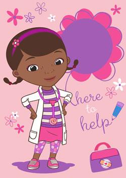 Covor Doctorita Plusica Doc Mc Stuffins to help