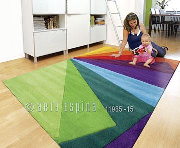 Covor Joy Multicolor, Tesut manual
