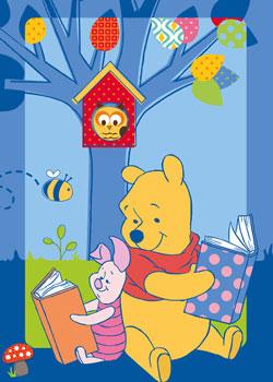 Covor Winnie the Pooh Story, 95 x 133 cm