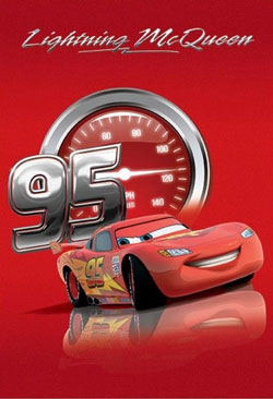 Covor Disney Cars, 133 x 190 cm