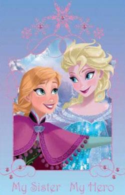 Covor fetite Sisters Disney Frozen