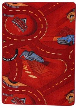 Covor rosu camera baieti Disney Cars ,80 x 120 cm