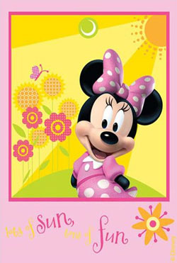 Disney Baby - Covor Minnie Mouse Model 22 160x230 cm la eMAG