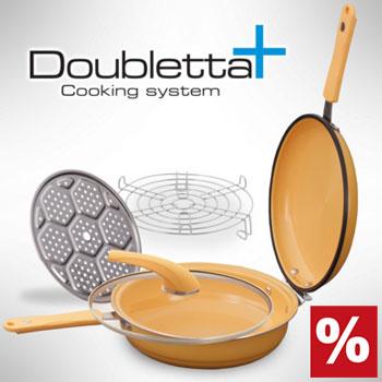 Doubletta Plus Delux cu accesorii incluse