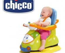Jucarie Chicco Masinuta 4 in 1 pentru bebe cu varsta peste 9-12 luni