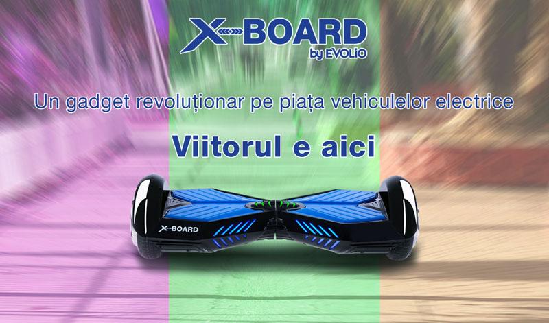 Pareri si preturi Evolio X-BOARD Hoverboard-ul Un mini-Segway romanesc