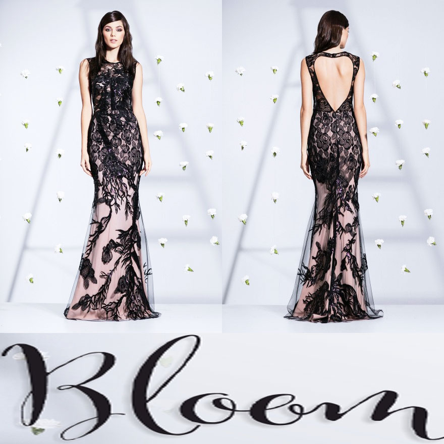 Rochii exclusiviste de seara si cocktail Cristallini Bloom Collection 2016