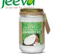 Ulei de Cocos Raw Organic Extra Virgin Jeeva Premium 490ml