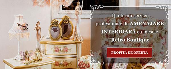 Amenajare interioara mobila vintage Retro Boutique