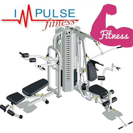 Aparat multifunctional profesional de Fitness cu 2 posturi IF 2060 Impulse Fitness