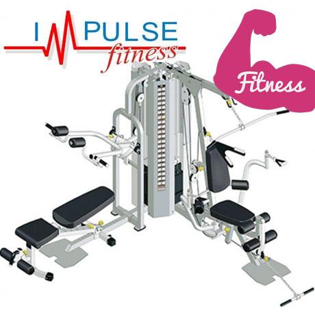 Aparat multifunctional profesional de Fitness cu 2 posturi IF 2060 Impulse Fitness