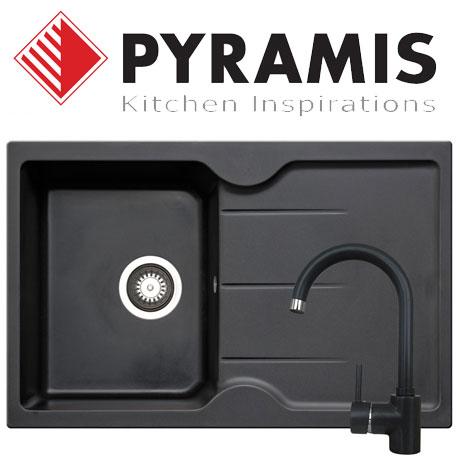 Pachet baterie de bucatarie ADRIA chiuveta granit Pyramis PORTO