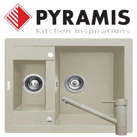 Pachet baterie de bucatarie TRONTO + chiuveta Pyramis STUDIO