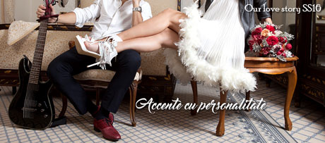 Pantofi de Mire si Mireasa la Ravissante