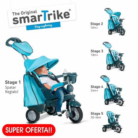 Tricicleta SmartTrike Explorer 5 in 1