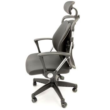 Scaun directorial ergonomic Kring Ergo cu suport lombaar si tetiera