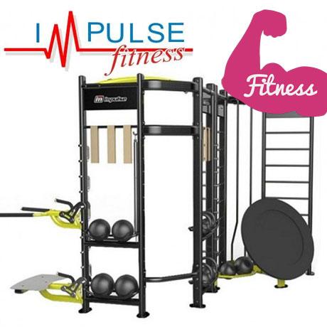 Statie profesionala de fitness Crossfit S-SHAPE IZ-S Impulse Fitness