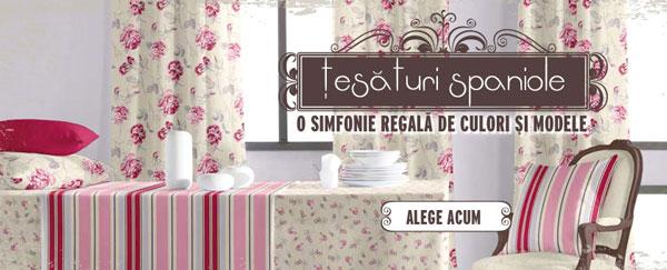 Tesaturi spaniole cu aspect vintage la Retro Boutique