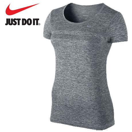 Tricou atletism Nike Dri Fit Knit SS pentru femei