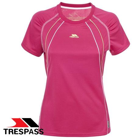 Tricou fitness si alergare femei Trespass Sunlight Roz