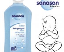 De unde cumperi la preturi decente produse de ingrijire SANOSAN pentru bebelusi