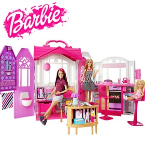 Jocuri, Seturi si Casute de joaca Barbie pentru fetite