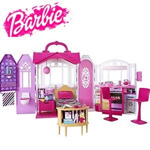 Barbie - Casuta portabila pentru papusi