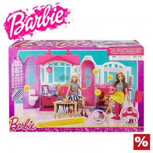 Casuta de papusi Barbie in Vacanta