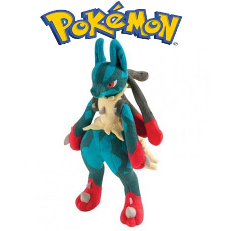 Lucario Pokemon de jucarie din plus