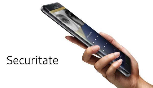 Securitate Samsung Galaxy Note7 - Scanarea Irisului