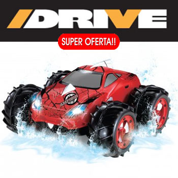 Noriel I Drive Amfibio Masinuta OffRoad Telecomandata pentru asfalt, nisip si apa
