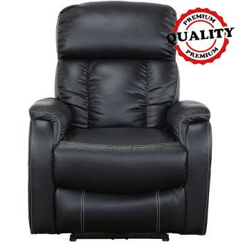 Pareri mobila eMAG Kring Fotoliu Kring Sofi cu recliner electric, piele ecologica, Negru, 83 x 96 x 101 cm