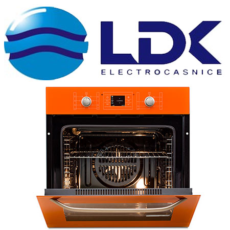 Electrocasnice colorate LDK Romania - Cuptor portocaliu