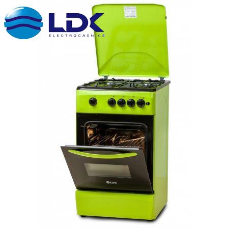 ragaz LDK 5060 A GREEN, 4 arzatoare, culoare verde lime
