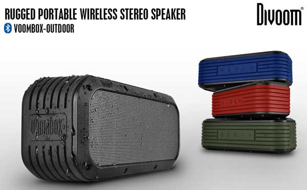 Boxe portabile wireless bluetooth Divoom Voombox - ieftine, autonomie si calitate mare