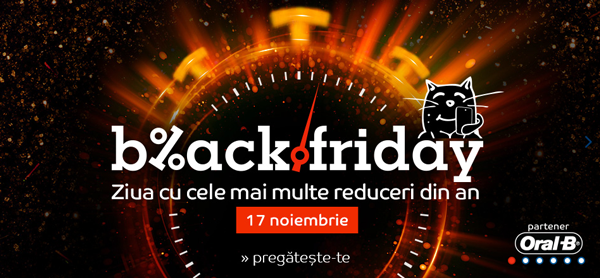 Magazine participante in campania de reduceri Black Friday