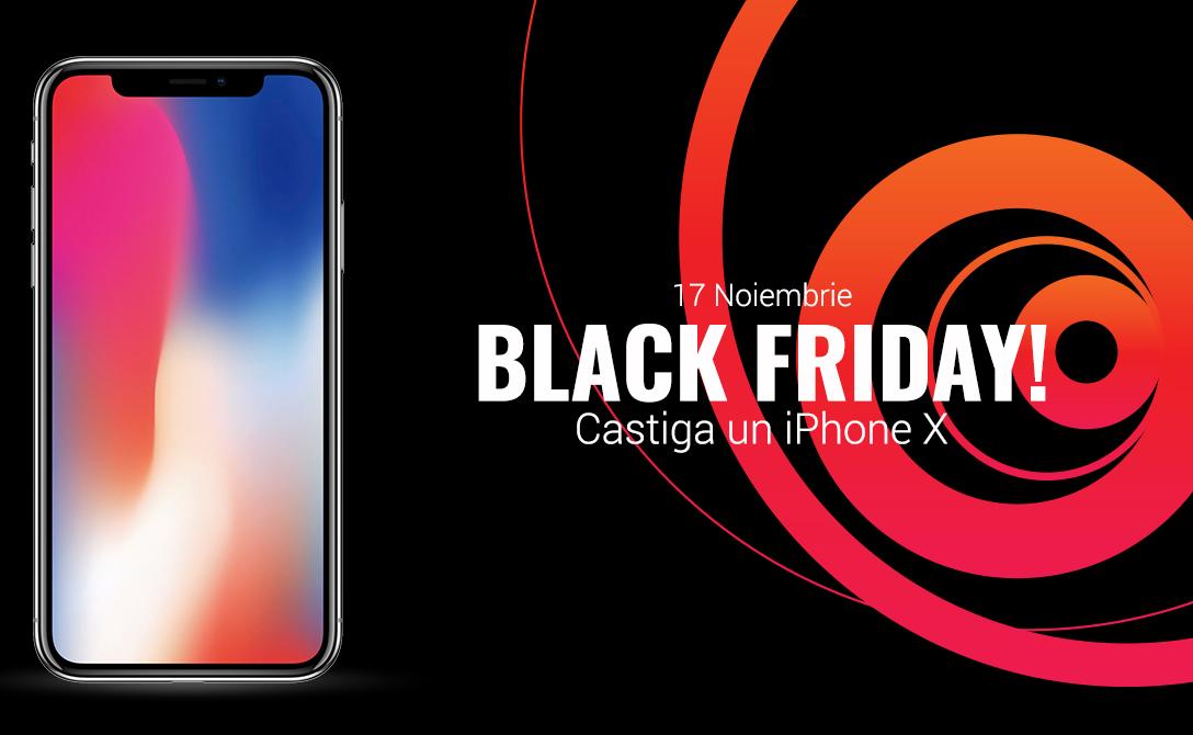 Cum poti castiga un iphonex de Black Friday la Quickmobile?