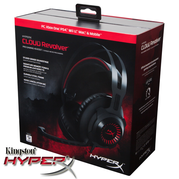 Casti audio gaming premium HyperX Cloud Revolver