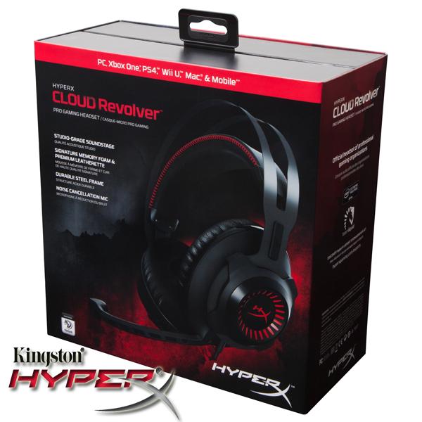 Casti audio gaming premium HyperX Cloud Revolver